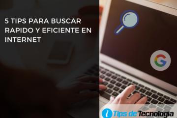 buscar rapido y eficiente internet