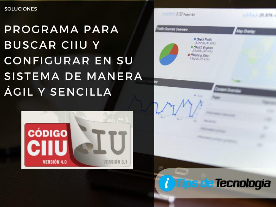 Buscar CIIU version 4