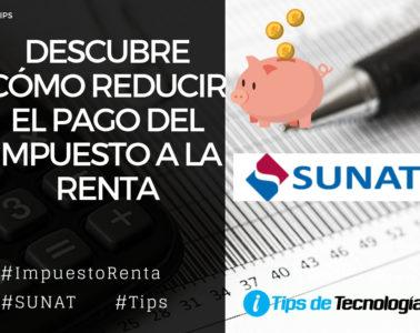 Reducir impuesto a la Renta