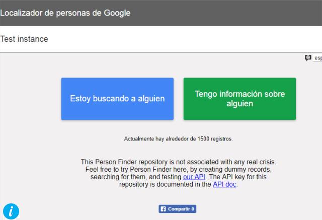 Google People Finder